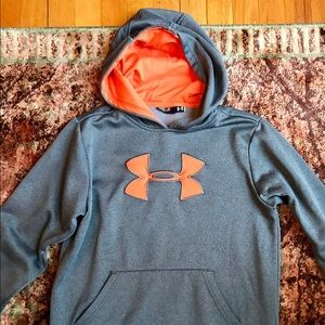 Under Armour Boys Hoodie Medium Sweatshirt Storm M